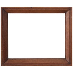 20th Century Italian Oak Wood Frame