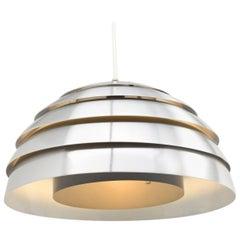 Aluminium pendant lamp, Hans Agne Jakobssen