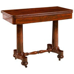 New York Empire Games Table Attributable to Meeks and Sons, circa 1830