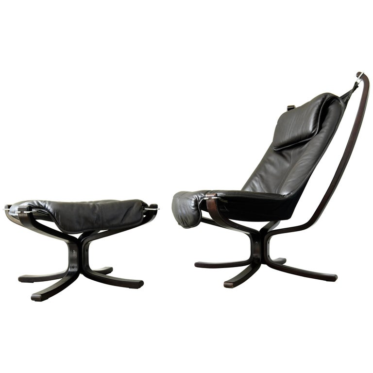 Remarkable Sigurd Ressel Falcon High Back Sling Lounge Chair And Gmtry Best Dining Table And Chair Ideas Images Gmtryco