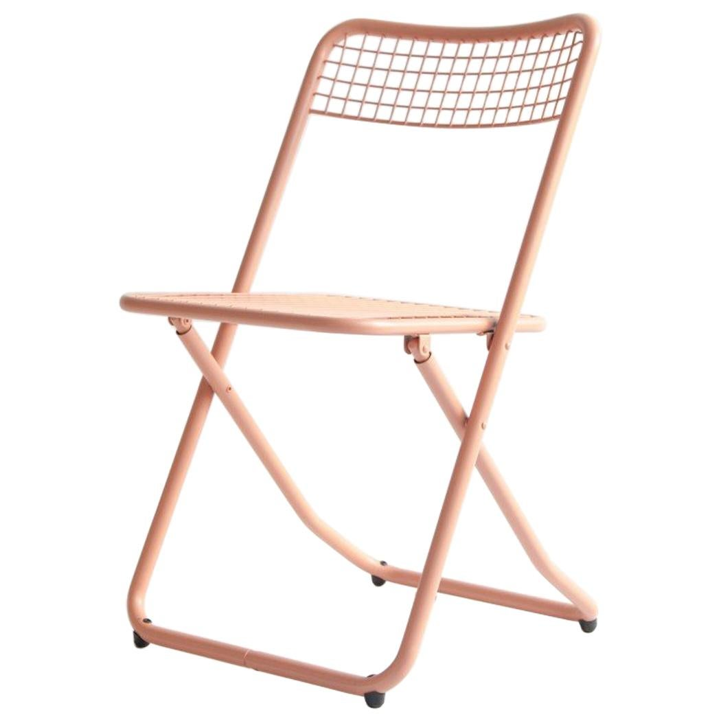 New Folding Iron Chair Make Up 3012 by Houtique signed by Federico Giner, Spain