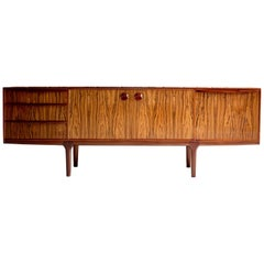 Rosewood Sideboard Credenza Tom Robertson for A.H McIntosh, circa 1960s
