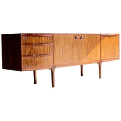 McIntosh Rosewood Sideboard Credenza Tom Robertson for A.H McIntosh circa 1960s