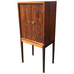 Danish Midcentury Rosewood Cabinet by Henning Korch for Silkeborg Mobelfabrik