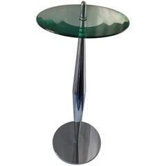Table Murano Glass and Metal