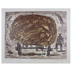"Lithograph ""The Last Load'"