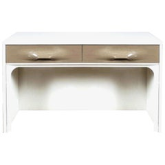 Raymond Loewy DF-2000 Modern Vanity Flip-Top Table Desk Doubinsky & Freres 1960s