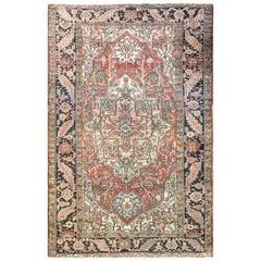 "Antique Persian Heriz/Serapi Carpet 7' x 11'8"", Unusual Size"