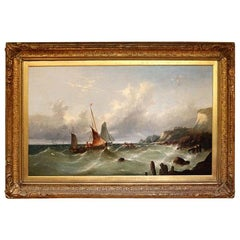 Original Seascape by W H Williamson