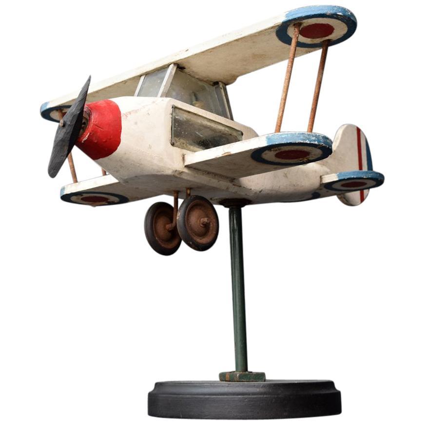 Early 20th Century Folk Art French Weather-Vane Plane
