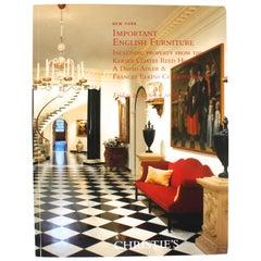 Christies: Important English Furniture: Reed House, David Adler & Frances Elkin