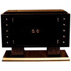 Smaller Art Deco Sideboard with 10 Drawers, France, circa 1930