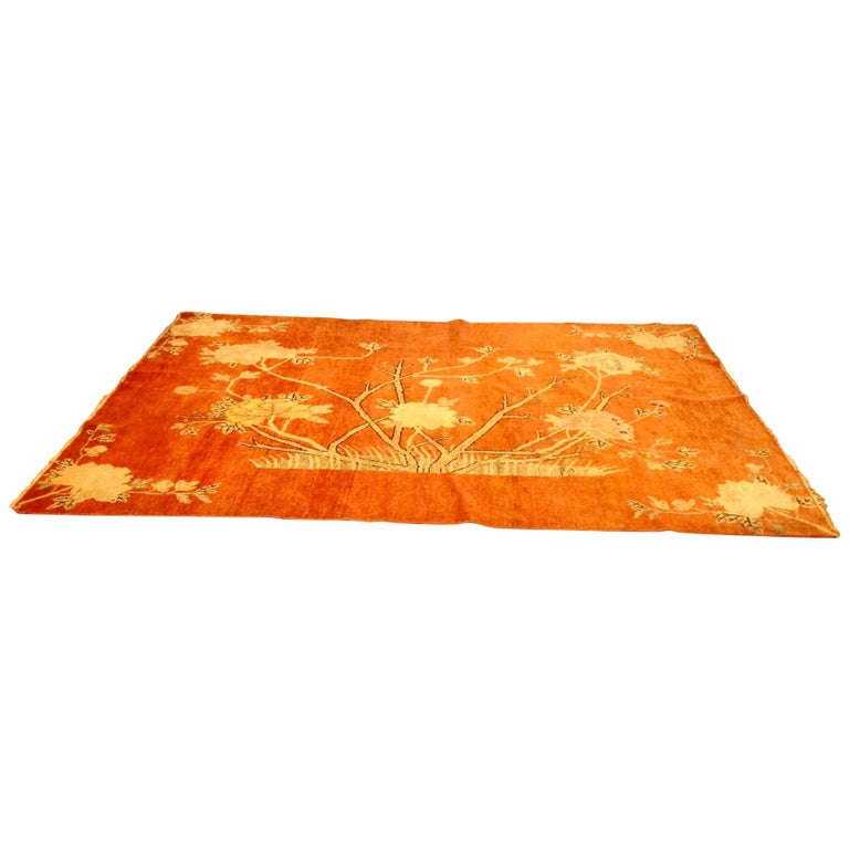 Art Deco Era Chinese Rug For Sale