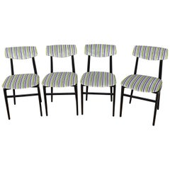 Set of Four Dinning Chairs, Italy, circa 1960