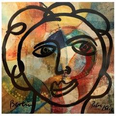 Peter Keil Expressionist Portrait Painting