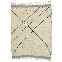 New Berber Moroccan Rug Inspired by Yayoi Kusama Polka Dot Motifs