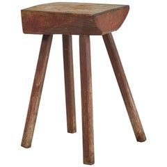 TC15 Side Table, Handcrafted Rustic Modern Table for Bedroom ...
