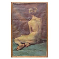 Nude Woman Oil Painting on Canvas