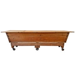 19th Century American Dough Table