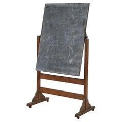 Chalkboard on Stand with Hinge