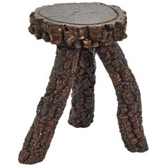Naive Stool or Side Table