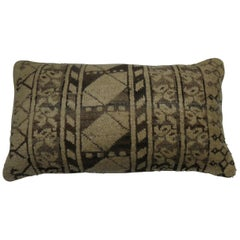Tribal Antique Ersari Rug Bolster Pillow