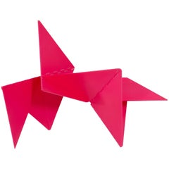 Lygia Clark Linear Critter Red Plastic Reproduction