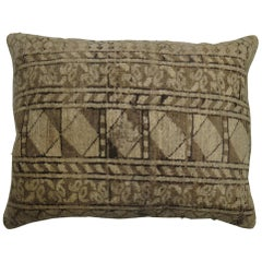 Tribal Antique Ersari Rug Floor Pillow