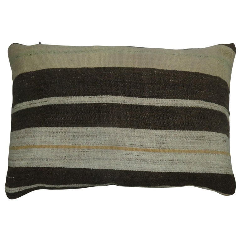 Double Sided Kilim Pillow For Sale
