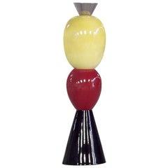 Alessandro Mendini Colored Ceramic Italian TOTEM, 2008