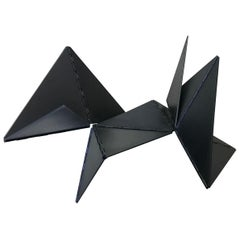 Lygia Clark Linear Critter Black Plastic Reproduction