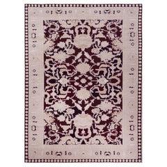Handwoven Persian Agra Rug