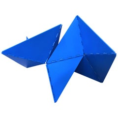 Lygia Clark Linear Critter Azul Plastic Reproduction