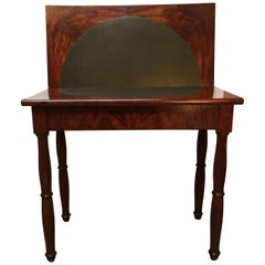 French Charles X Mahogany Game Table