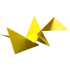 Lygia Clark Linear Critter Yellow Plastic Reproduction