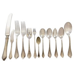 Old Newbury by Towle Sterling Silver Flatware Set 12 Service 153 Pieces Dinner