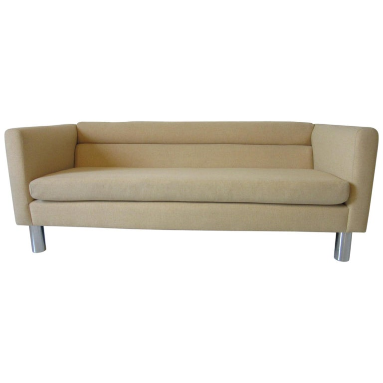 1970s Designer Sofa or Loveseat by David Edward For Sale
