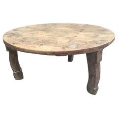 Primitive European Farm Side Table
