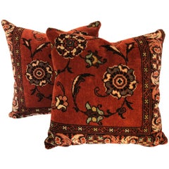 Custom Pillows by Maison Suzanne, Cut from a Vintage Mohair Textile, Netherlands