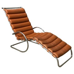 1965, Ludwig Mies van der Rohe, Rare Early Production Adjustable Chaise Longue