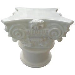 Corinthian Capital Table Base