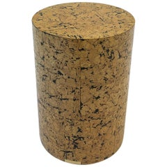 Cork Drum Occasional Table