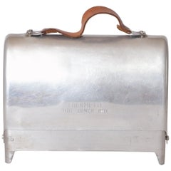 Art Deco Machine Age Industrial Design Thermette Hot Lunch Box by Privett Mfg.