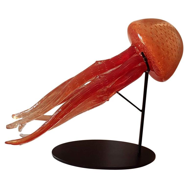 Sculpture Murano Glass Irene Rezzonico For Sale
