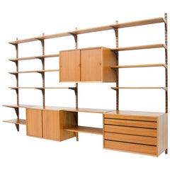 Poul Cadovius Shelf System in Teak, Denmark, 1956