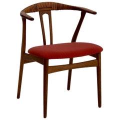 Danish Design Armchairs in Teak, Probably by Hans Wegner, 1960s