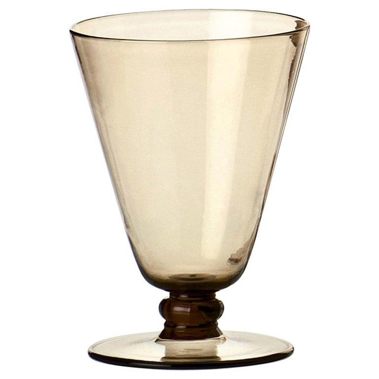 Venini Ambasciata Hand Blown Sciroppo in Straw Yellow Glass For Sale