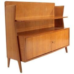 Italian Midcentury Sideboard with Shelf, 1950s