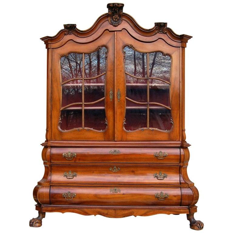 Dutch-Style Baroque Composite Dresser, 1800s For Sale