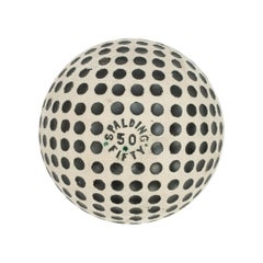 Vintage Spalding '50 Fifty' Golf Ball. Rubber Core, circa 1910